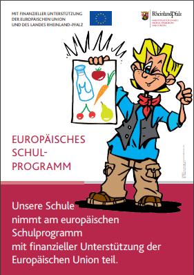 Unsere Schule nimmt am Schulobstprogramm der Europäischen Union teil.